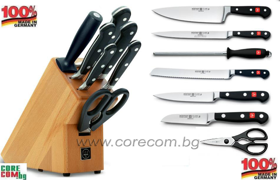 Solingen Knives Cutlery Wusthof Solingen Knives Set